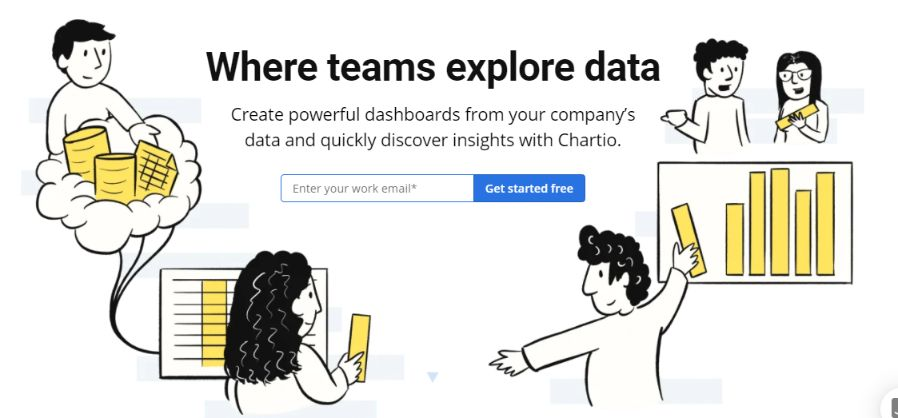 With Charito BI tool you can visualize your business data. Start with a free 14-days trial run.