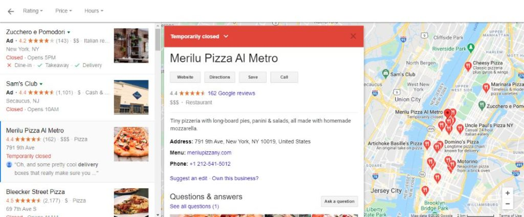 With Google rich snippet you can easily showcase your business. Don't forget to add geotag keyword in your site content.