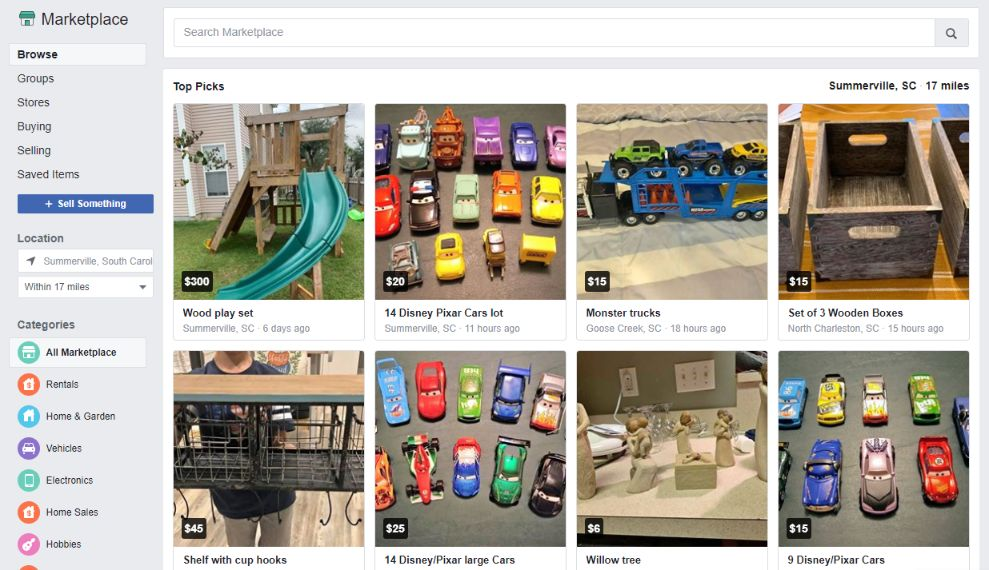 You can list ecommerce products in Facebook marketplace. It's free.