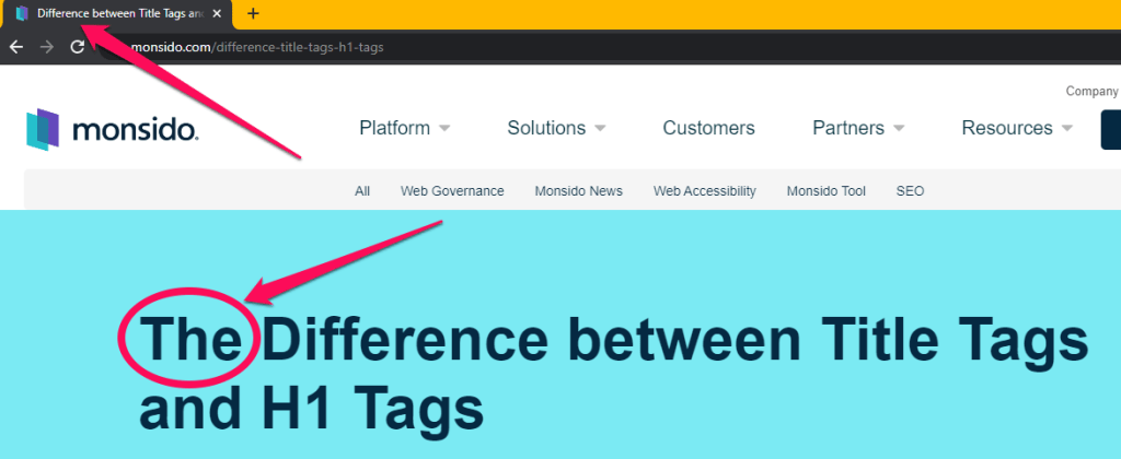 To write a perfect SEO title first you have to understand that h1 and title tag both are different.