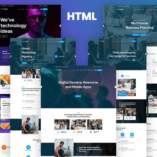 Use responsive website template, as it will be flexible in all devices from desktop to mobile.