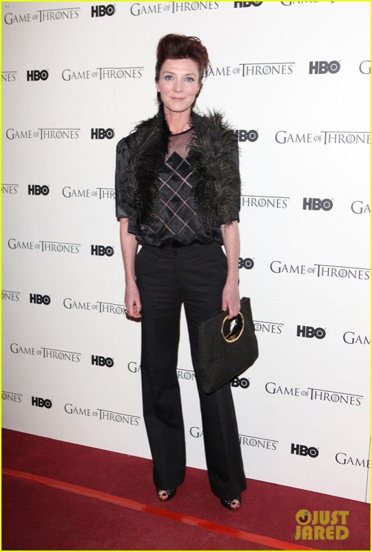 ClioMakeUp-game-of-thrones-trono-di-spade-premiere-red-carpet-Michelle-Fairley-DVD-Launch-Party-2011