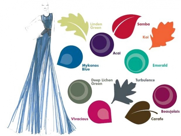 fall 2013 color trends via pantone