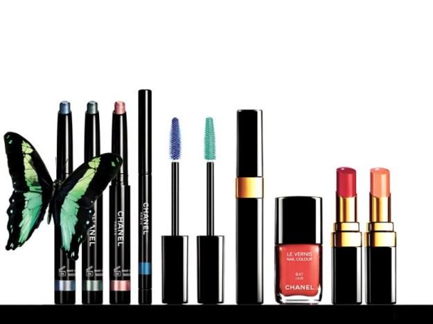 Chanel-summer-2013_LEté-Papillon_Rouge-Coco-Shine-in-457-Pygmalion-and-457-Idylle_press-kit-images_photography-Richard-Burbridge