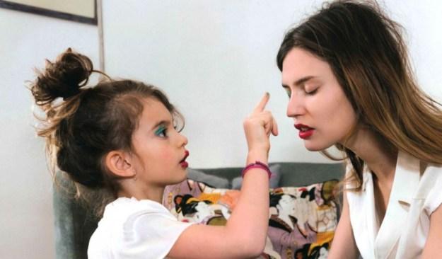 Con Matilde, futura make-up artist ;)