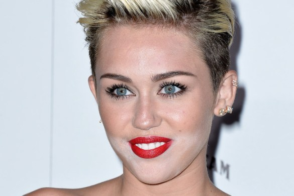 Effetto fantasma sul mento di Miley Cyrus