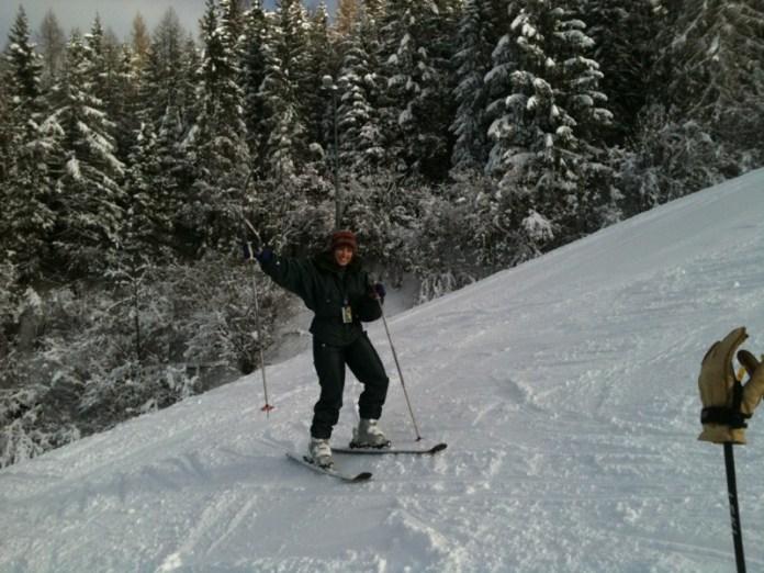 La prima sciata dell'anno!