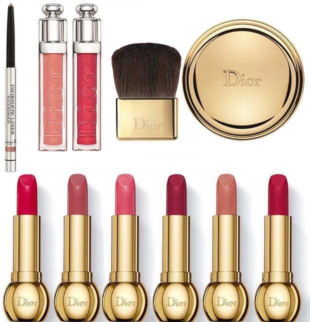 Oro, oro e ancora oro per Dior