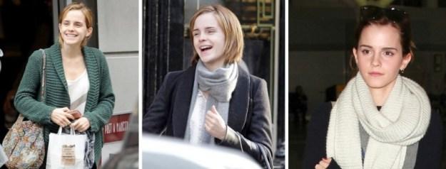 Emma Watson nella vita privata non è un'amante del trucco
