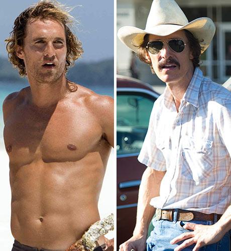 Matthew McConaughy Fool's Gold Dallas Buyers Club