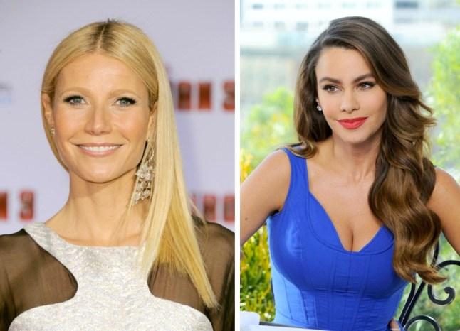 Gwyneth Paltrow e Sofia Vergara: entrambe nate nel 1972, hanno 42 anni!
