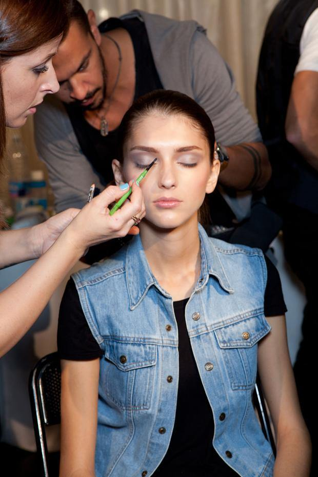 chicca-lualdi-beequeen-backstage-spring-summer-2014-mfw2