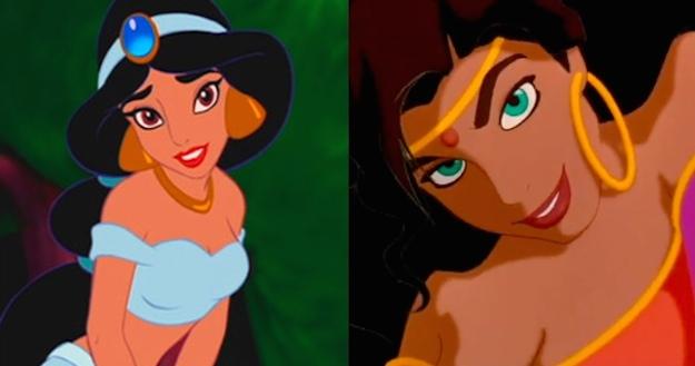 Jasmine e Esmeralda