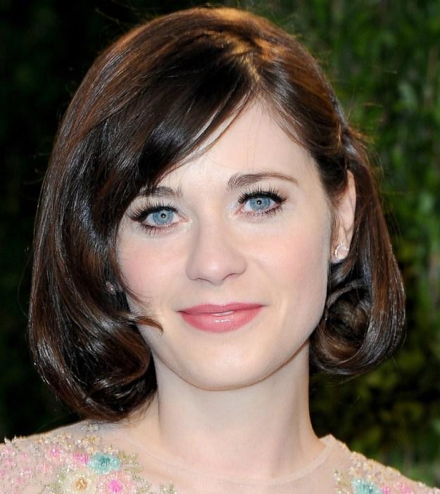 Zooey-Deschanel-Oscars-Party-2013-Hair