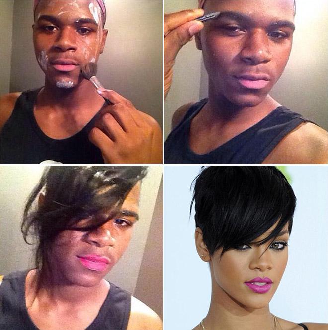 #makeuptransformation - clio