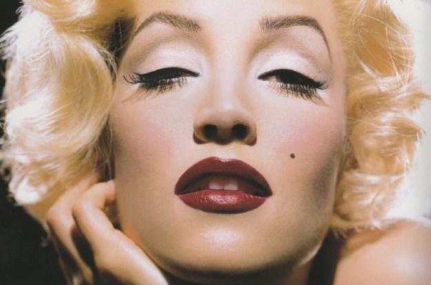 Lisa Marie Presley come Marilyn Monroe