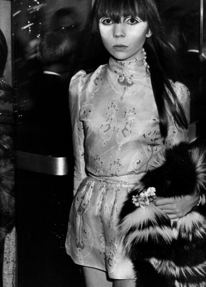 La modella Penelope Tree