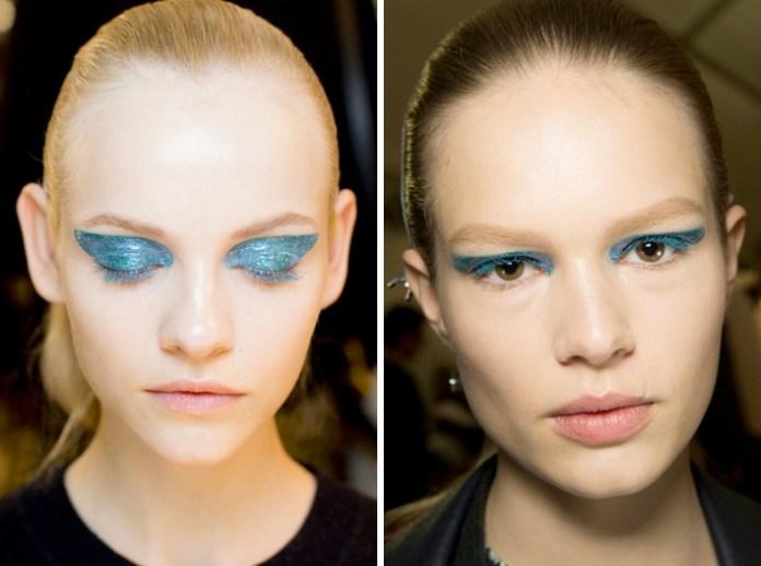 Un'overdose di glitter (anche sulle ciglia) da Dior