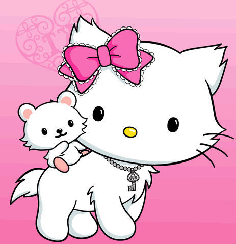 Charmmy e Sugar, un cricetino, altro pet di Hello Kitty