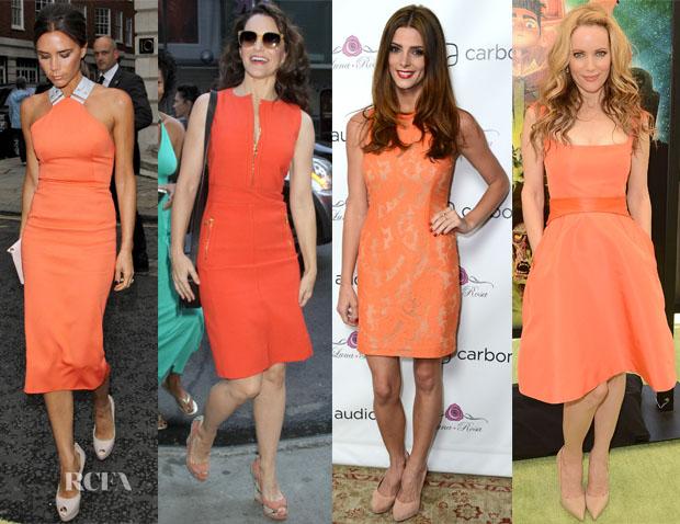 Orange-dresses-trend