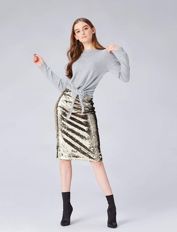 ClioMakeUp-copiare-look-Filippa-Lagerback-21-gonna-paillettes