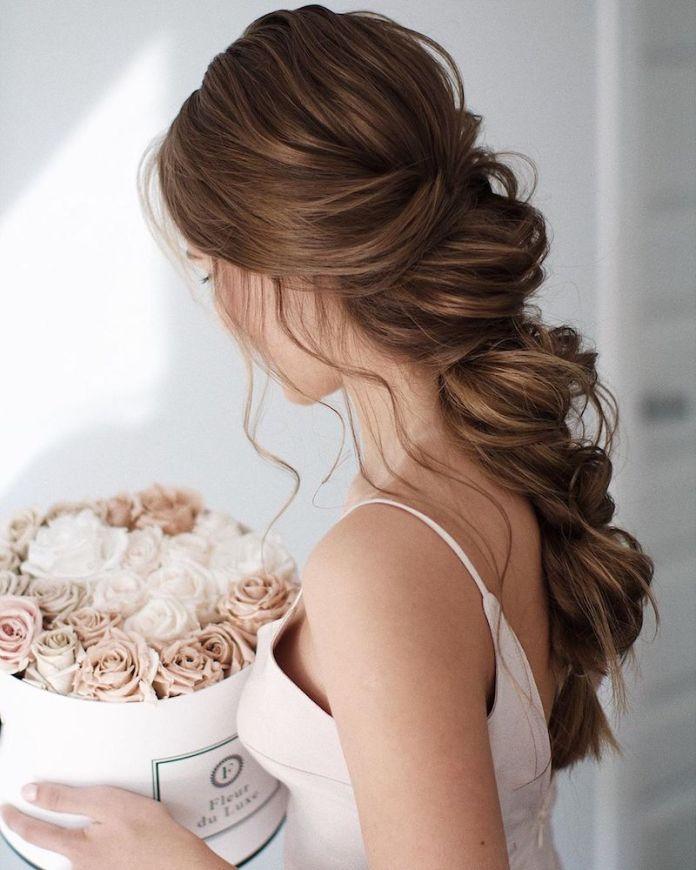 Famoso Acconciature sposa capelli lunghi: semiraccolti, trecce, code e PD57