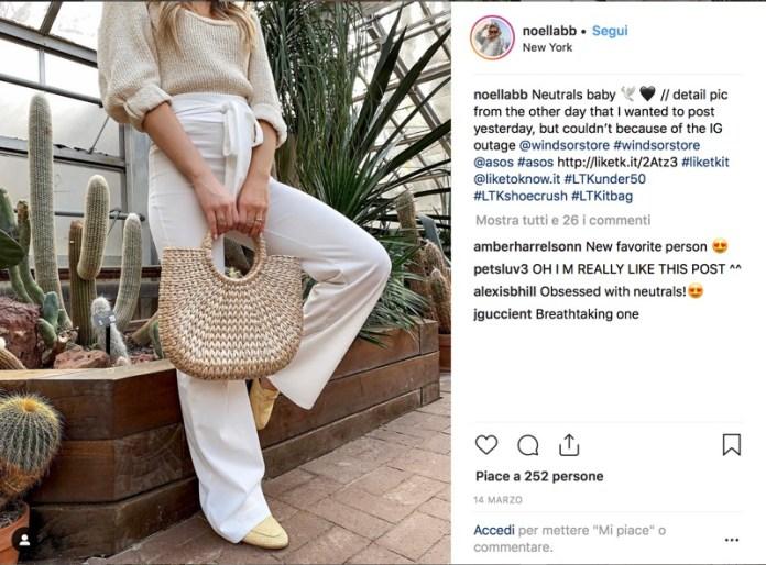 cliomakeup-pantaloni-bianchi-look-19-outfit-borsa-paglia
