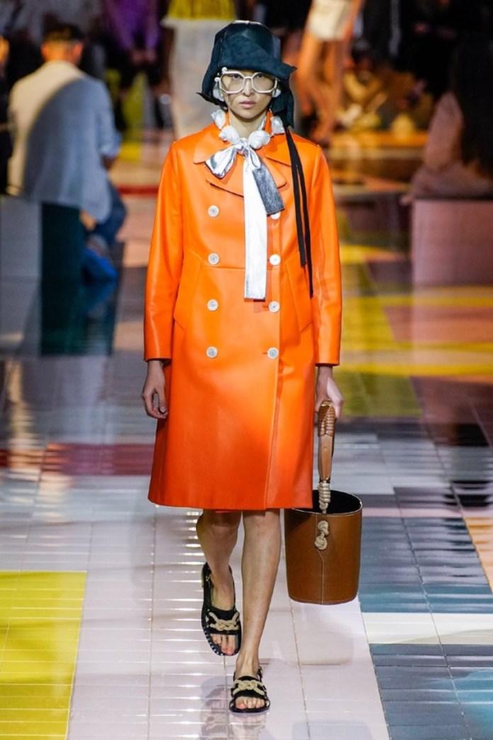 cliomakeup-milano-fashion-week-primavera-estate-2020-4-prada-arancione