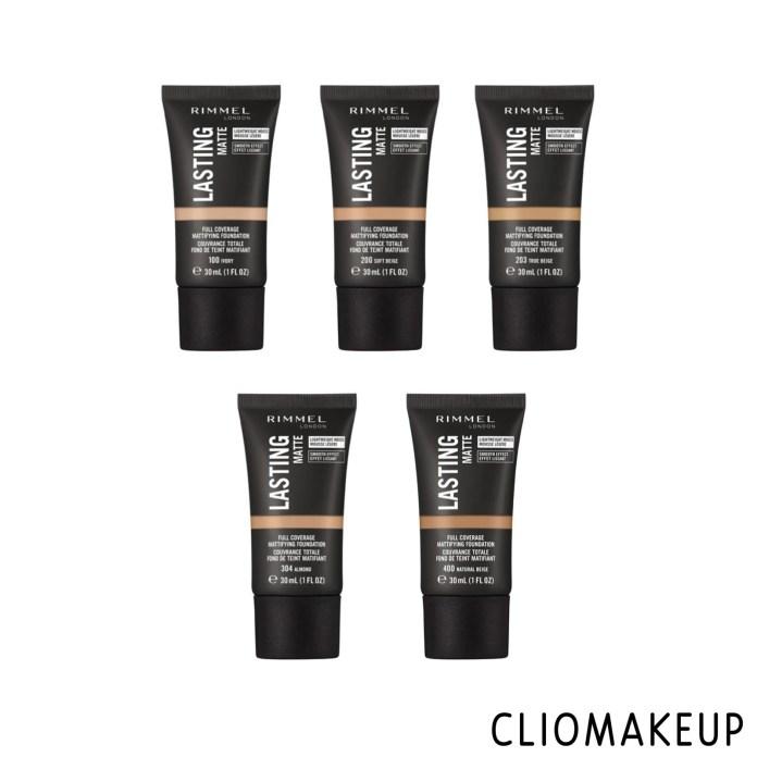 cliomakeup-recensione-fondotinta-rimmel-lasting-matte-full-coverage-mattifying-foundation-3