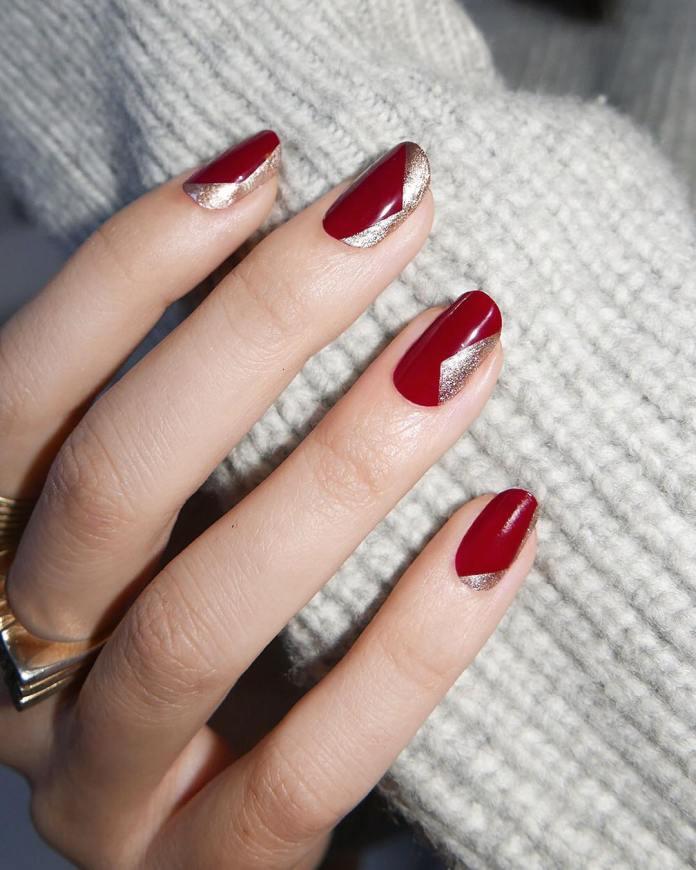 Cliomakeup-unghie-natalizie-1-rosso-argento