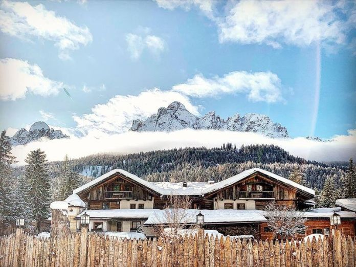 Spa Dolomiti: Caravan Park