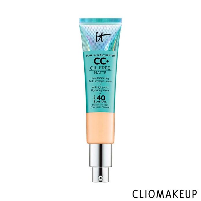 cliomakeup-recensione-cc-crea-it-cosmetics-cc+-oil-free-matte-pore-minimizing-full coverage-cream-1