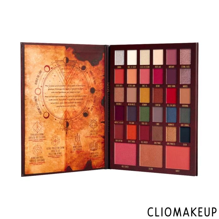 cliomakeup-recensione-palette-nyx-chilling-adventures-of-sabrina-spellbook-makeup-palette-1