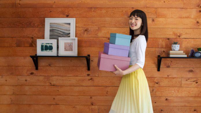 Marie Kondo: come funziona il metodo per riordinare la casa