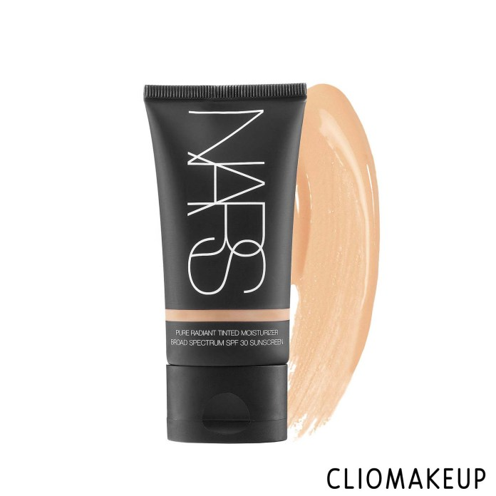 cliomakeup-recensione-crema colorata-nars-pure-radiant-tinted-moisturizer-spf30-1