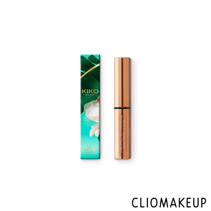 cliomakeup-recensione-rossetto-kiko-unexpected-paradise-long-lasting-lip-stylo-1