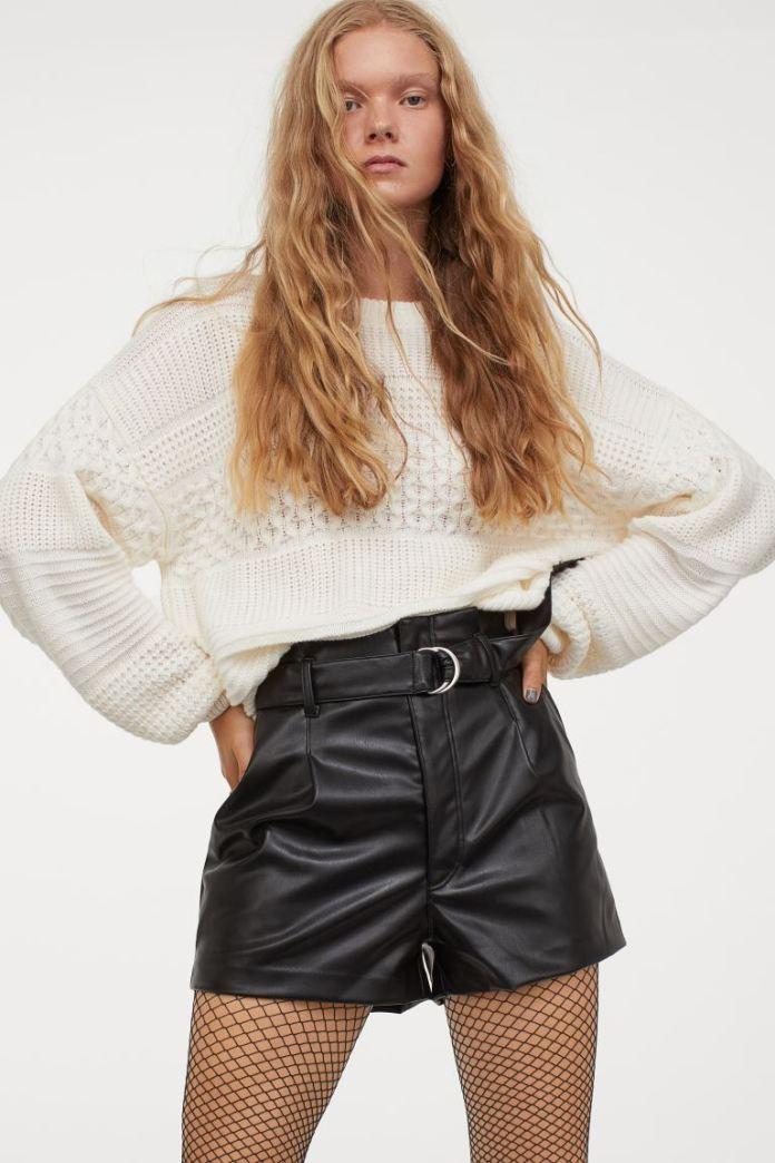 Cliomakeup-outfit-autunno-20-hm-shorts-pelle