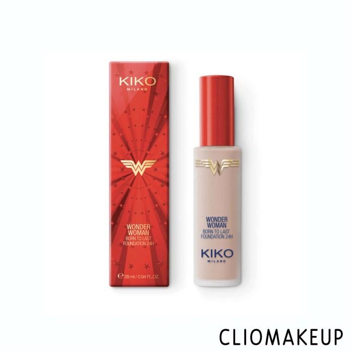 cliomakeup-recensione-fondotinta-kiko-wonder-woman-born-to-last-foundation-24h-1