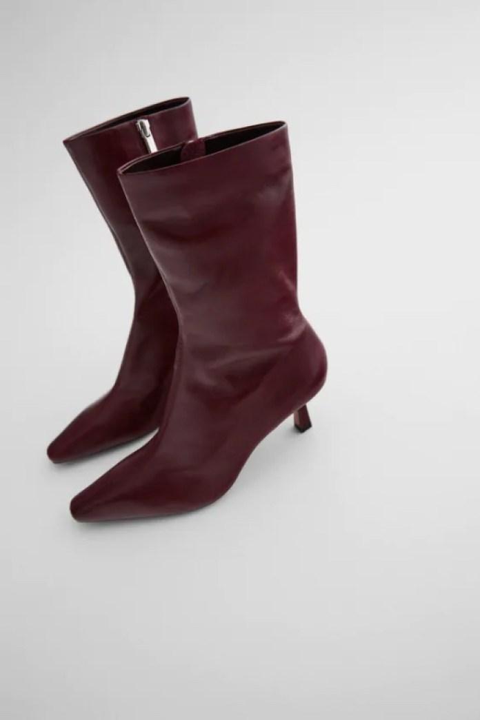 Cliomakeup-saldi-scarpe-eleganti-inverno-2021-2-zara-stivaletti-bordeaux