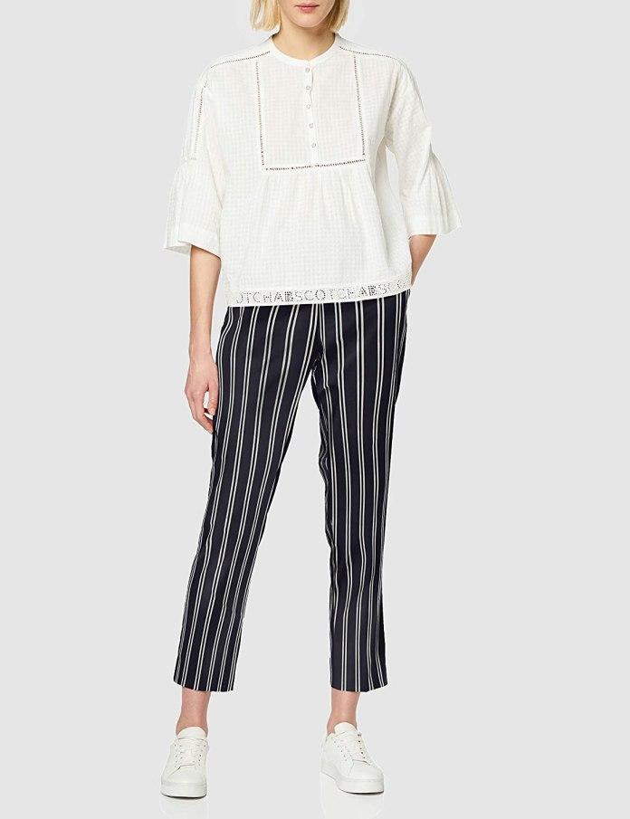 Cliomakeup-look-a-strisce-Scotch-Soda-Classic-Tailored-Pants