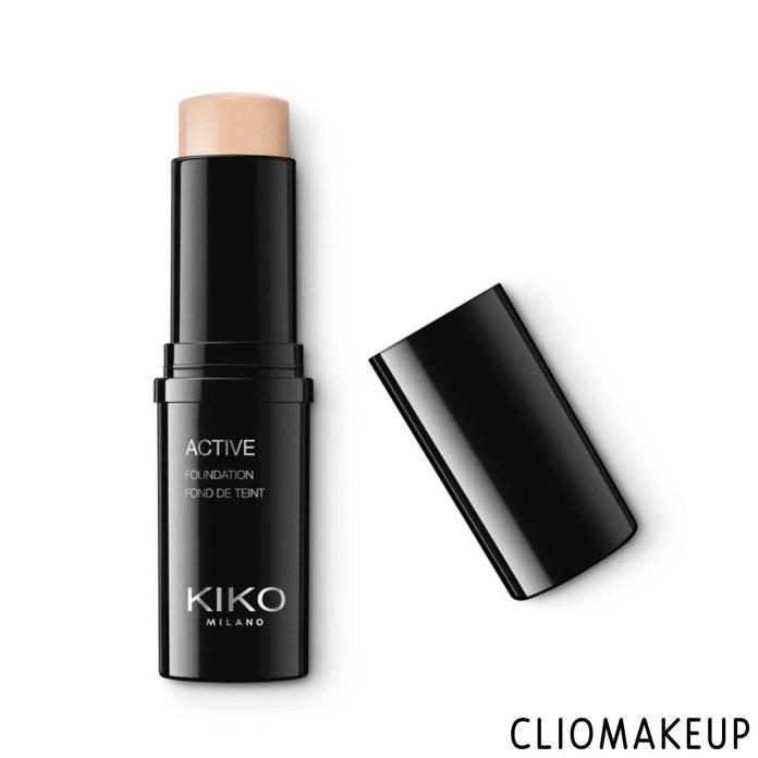 cliomakeup-recensione-fondotinta-kiko-active-foundation -1