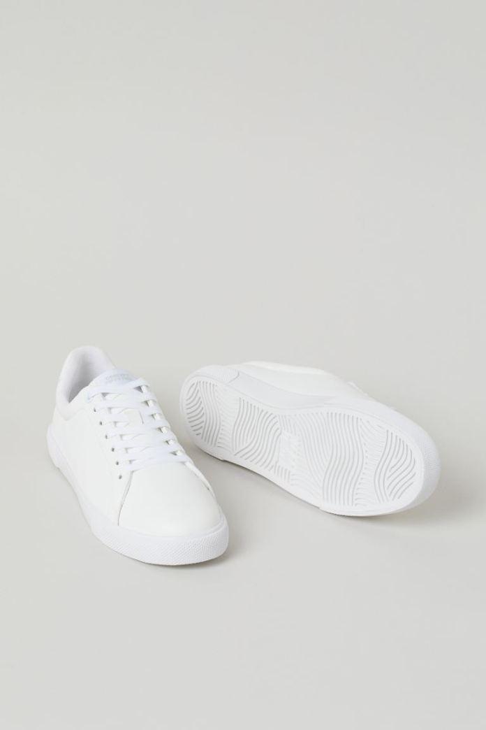 Cliomakeup-sneakesr-bianche-primavera-2021-hm-Sneakers-basic