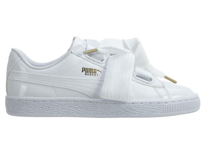 Cliomakeup-sneakesr-bianche-primavera-2021-puma-Basket-Heart-Patentsse