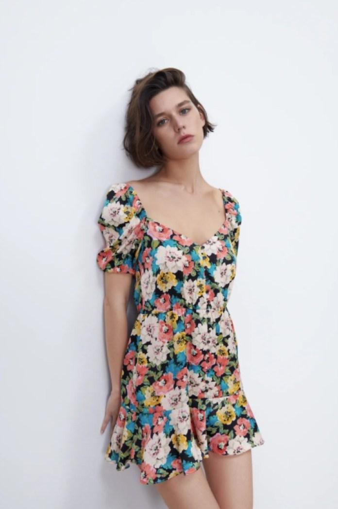 Cliomakeup-vestiti-floreali-primaverili-zara-corto