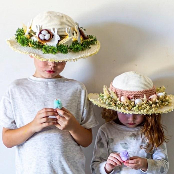 cliomakeup-lavoretti-di-pasqua-per-bambini-cappelli-paglia