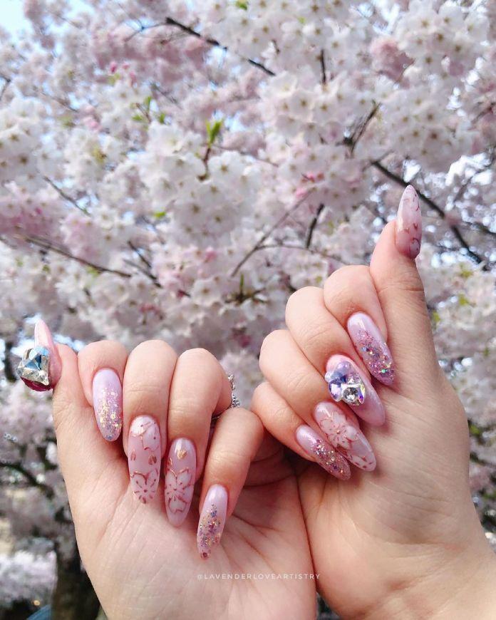 Cliomakeup-unghie-pink-sakura-applicazioni