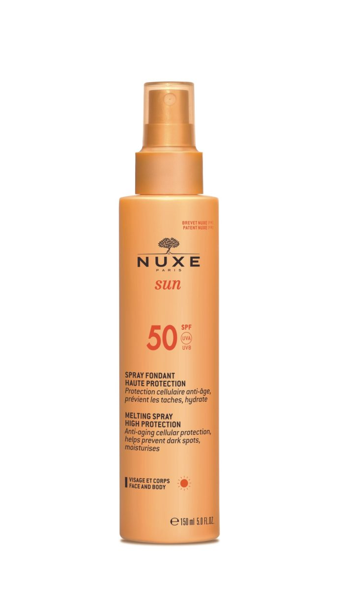 Cliomakeup-creme-solari-per-la-montagna-2021-Nuxe-Sun-Spray-Fondant-Haute-Protection