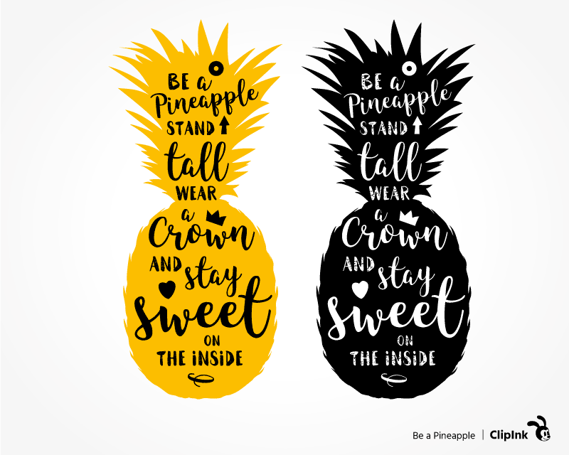 Download Pineapple cricut quote | svg, png, eps, dxf, pdf | ClipInk