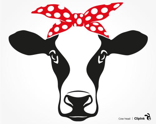 cow bandana