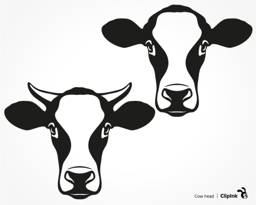 cow head svg